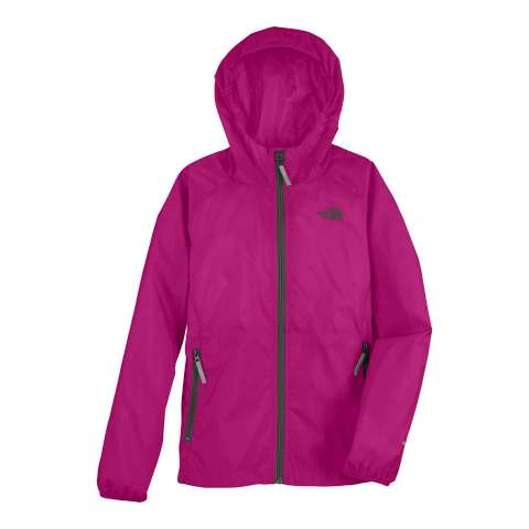photo: The North Face Girls' Altimont Hoodie waterproof jacket