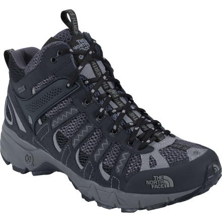 photo: The North Face Men's Ultra 105 GTX XCR Mid trail running shoe