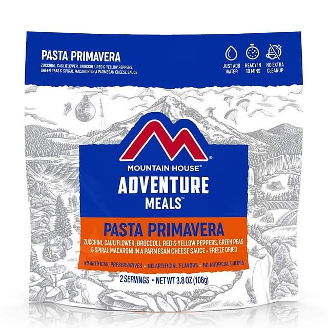 photo: Mountain House Pasta Primavera vegetarian entrée