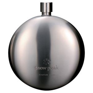Snow Peak Titanium Curved Flask
