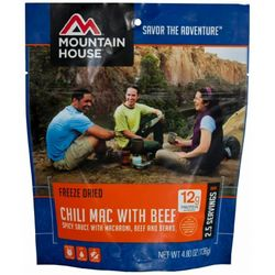 photo: Mountain House Chili Mac with Beef meat entrée