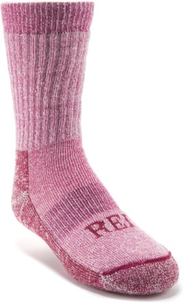 photo: REI Girls' Merino Wool Crew Hiking Socks hiking/backpacking sock