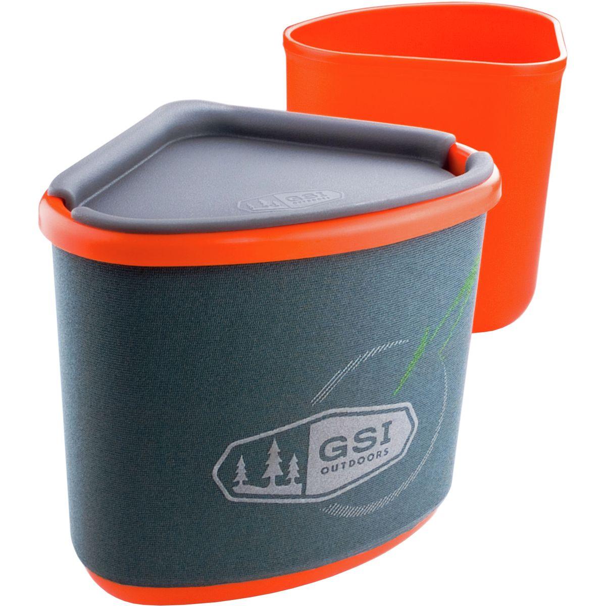 photo: GSI Outdoors Gourmet Nesting Mug and Bowl cup/mug