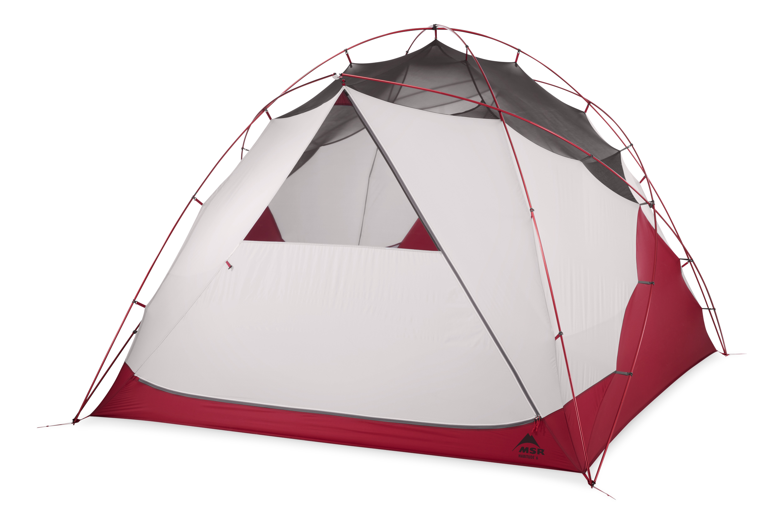 photo: MSR Habitude 6P three-season tent