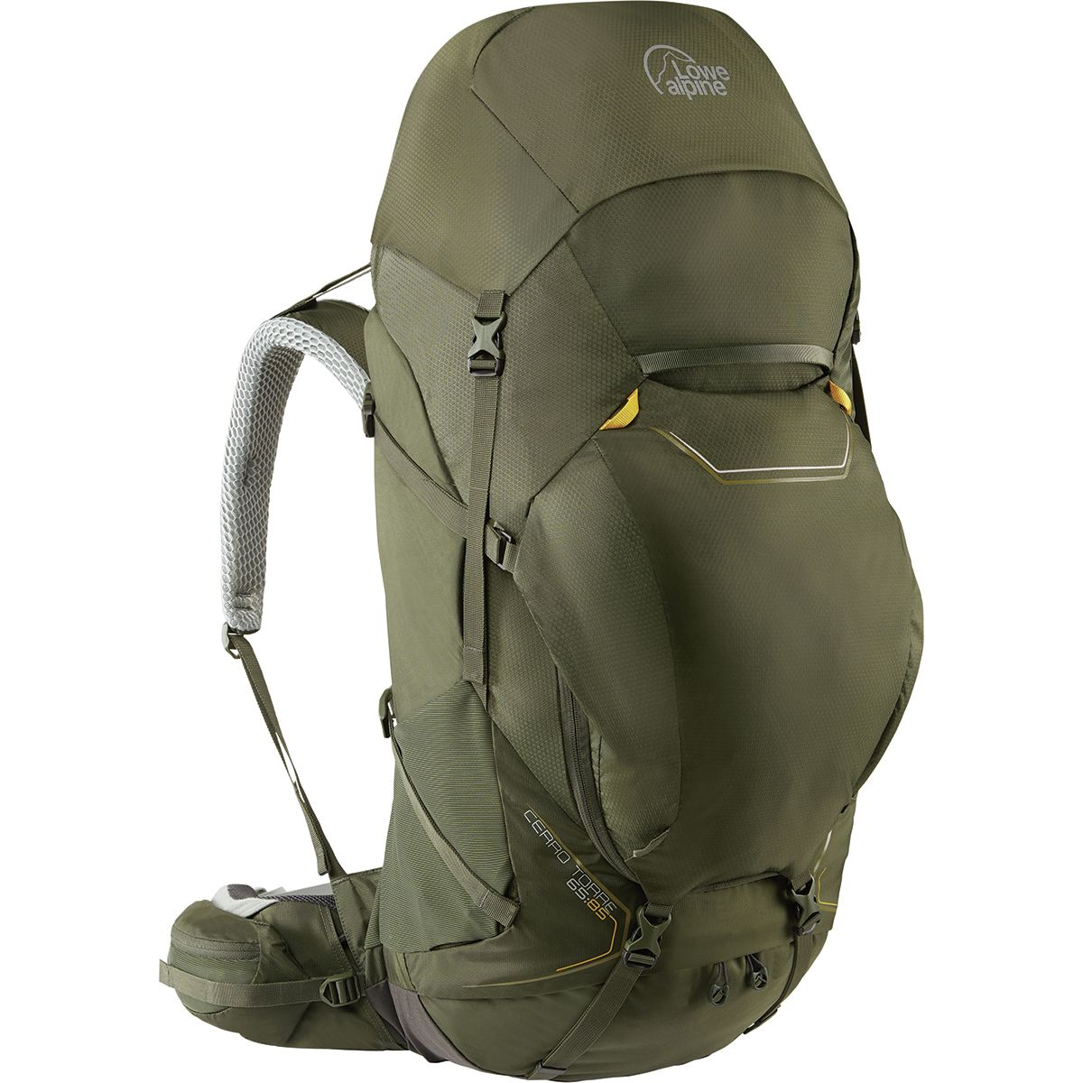 photo: Lowe Alpine TFX Cerro Torre 65:85 weekend pack (50-69l)