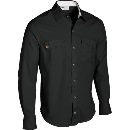 photo: GoLite Men's Paparoa Longsleeve Travel Shirt hiking shirt