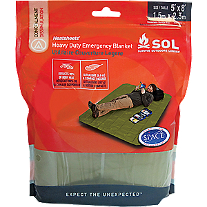 SOL Heavy Duty Emergency Blanket