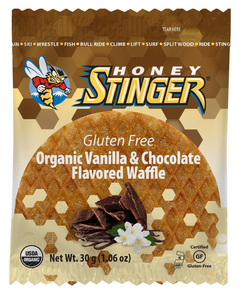 photo: Honey Stinger Gluten-Free Organic Waffle nutrition bar