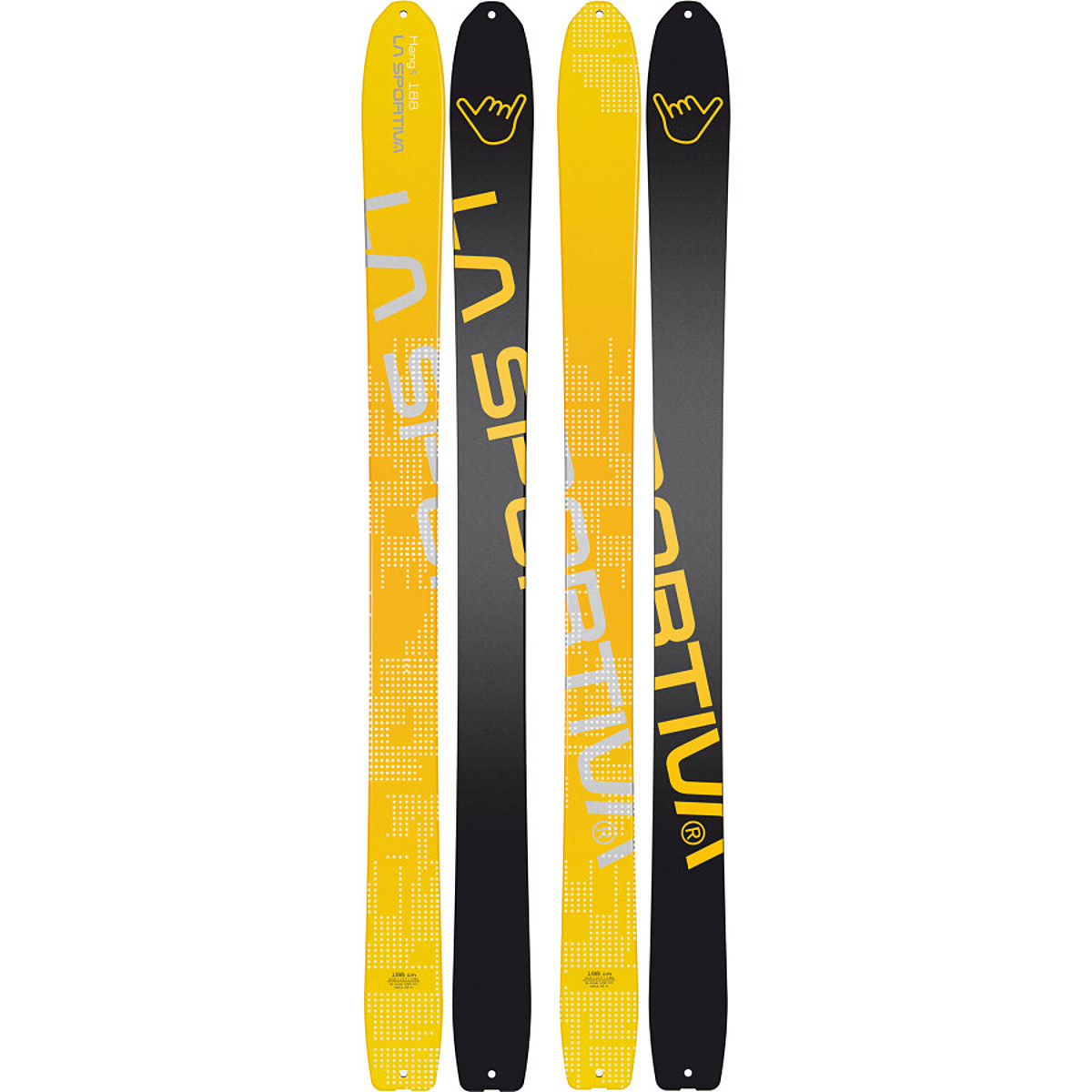 photo: La Sportiva Hang5 alpine touring/telemark ski