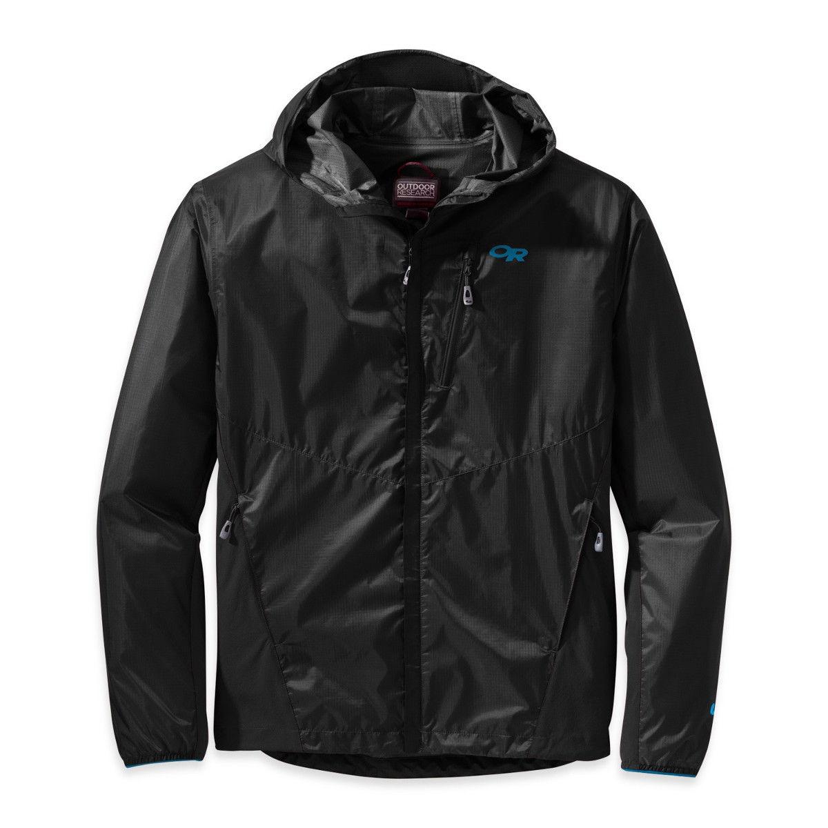 photo: Outdoor Research Men's Helium Hybrid Hooded Jacket waterproof jacket