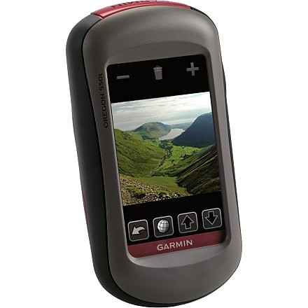 photo: Garmin Oregon 550t handheld gps receiver