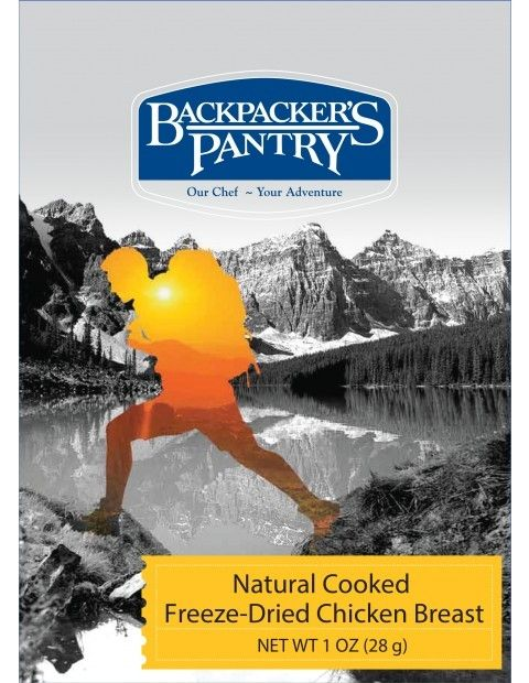 photo: Backpacker's Pantry Freeze-Dried Cooked Chicken snack/side dish