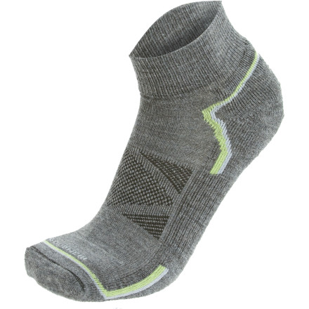 photo: Goodhew Women's Outdoortech Quarter - 2 Pack running sock