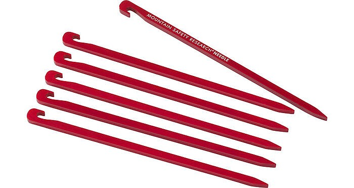 photo: MSR Needle Tent Stakes stake