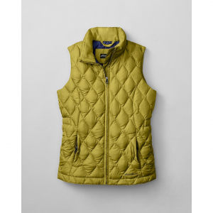 photo: Eddie Bauer Girls' Classic Down Vest down insulated vest