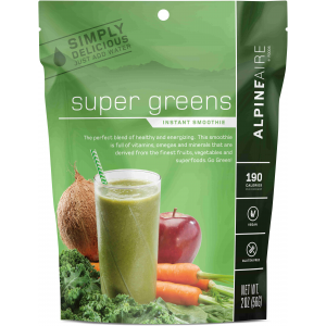 photo: AlpineAire Foods Super Greens Smoothie drink