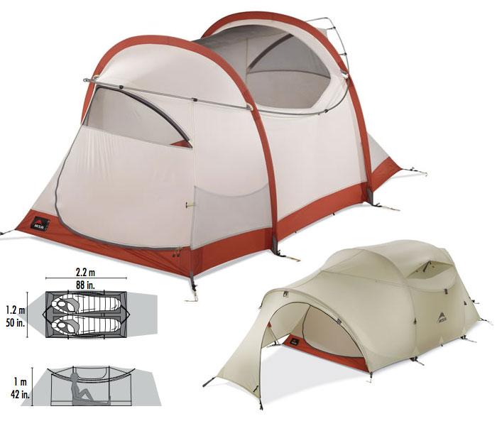 photo: MSR Mo Room 2P three-season tent