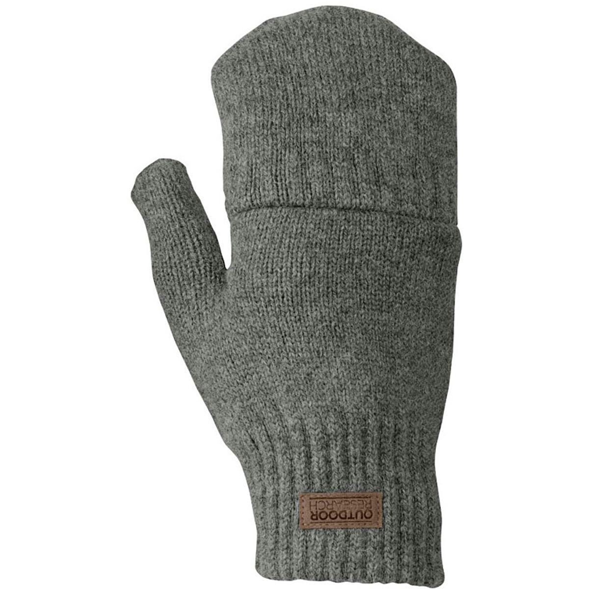 photo: Outdoor Research Lost Coast Fingerless Mitts fleece glove/mitten