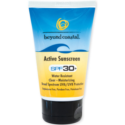 photo of a Beyond Coastal sunscreen