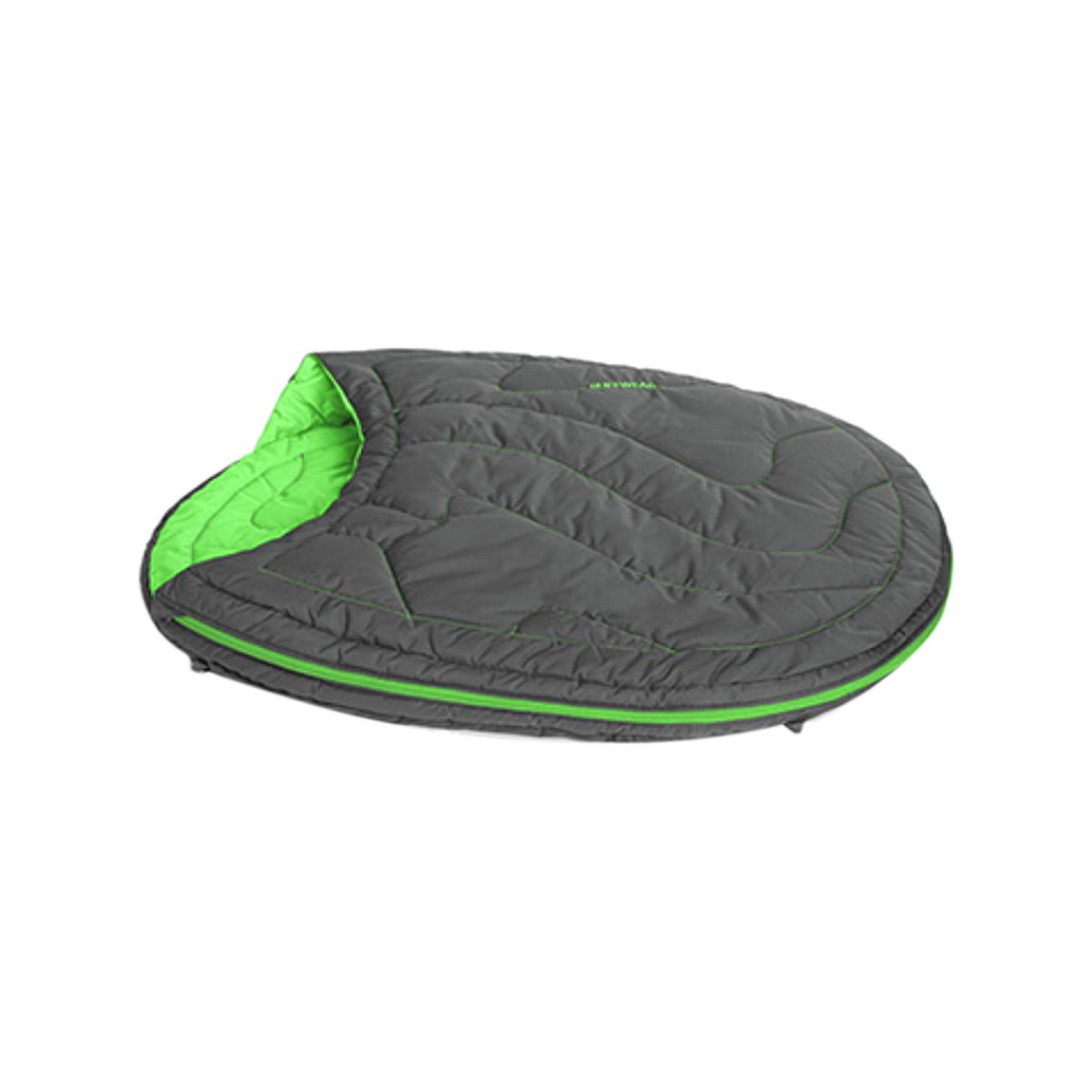 photo: Ruffwear Highlands Sleeping Bag dog bed/shelter