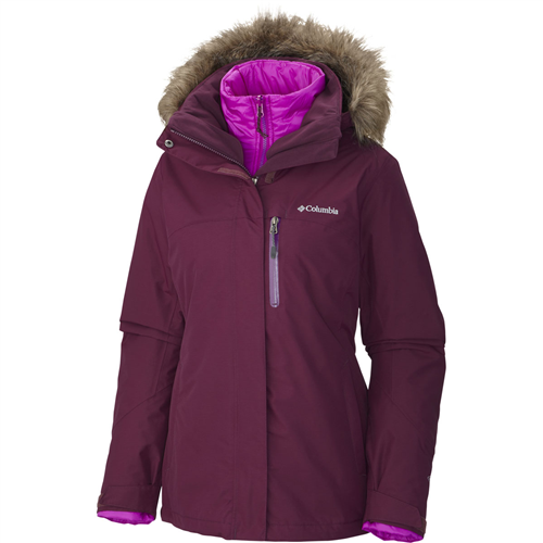 photo: Columbia Lhotse Interchange Jacket component (3-in-1) jacket