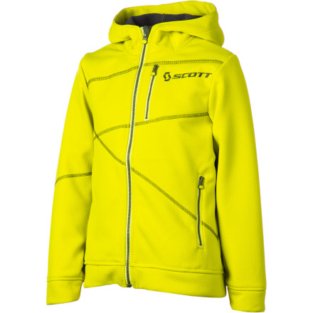photo: Scott Girls' Puget Sweatshirt fleece jacket