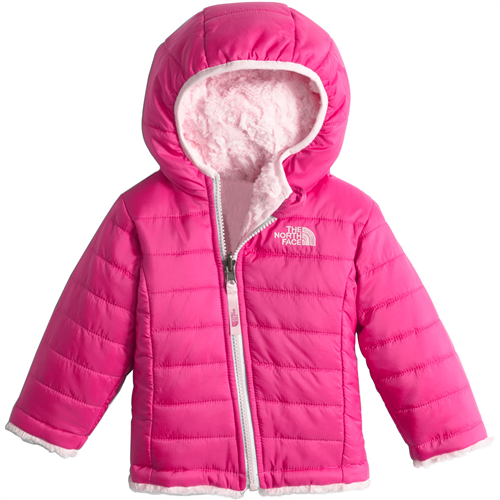 photo: The North Face Reversible Mossbud Swirl Hoodie synthetic insulated jacket