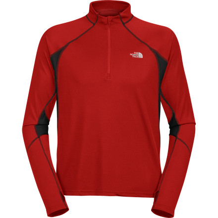 photo: The North Face Women's Better Than Naked 1/4 Zip Top long sleeve performance top