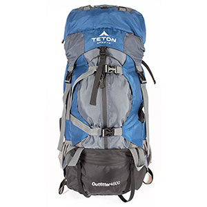 photo: Teton Sports Outfitter 4600 expedition pack (4,500+ cu in)