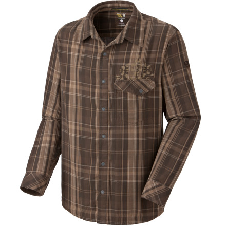 photo: Mountain Hardwear Glenston Long Sleeve hiking shirt
