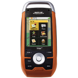 photo: Magellan Triton 1500 handheld gps receiver