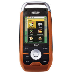 photo: Magellan Triton 2000 handheld gps receiver