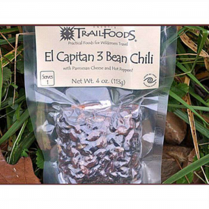 Enertia Trail Foods El Capitan 3 Bean Chili