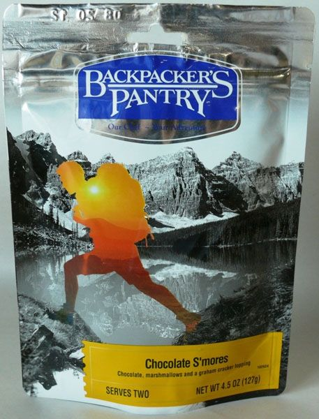 photo: Backpacker's Pantry Chocolate S'mores dessert