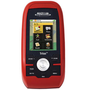 photo: Magellan Triton 400 handheld gps receiver