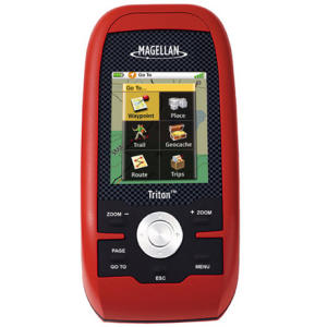 photo: Magellan Triton 500 handheld gps receiver