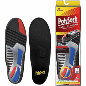 Spenco PolySorb Total Support Replacement Insoles