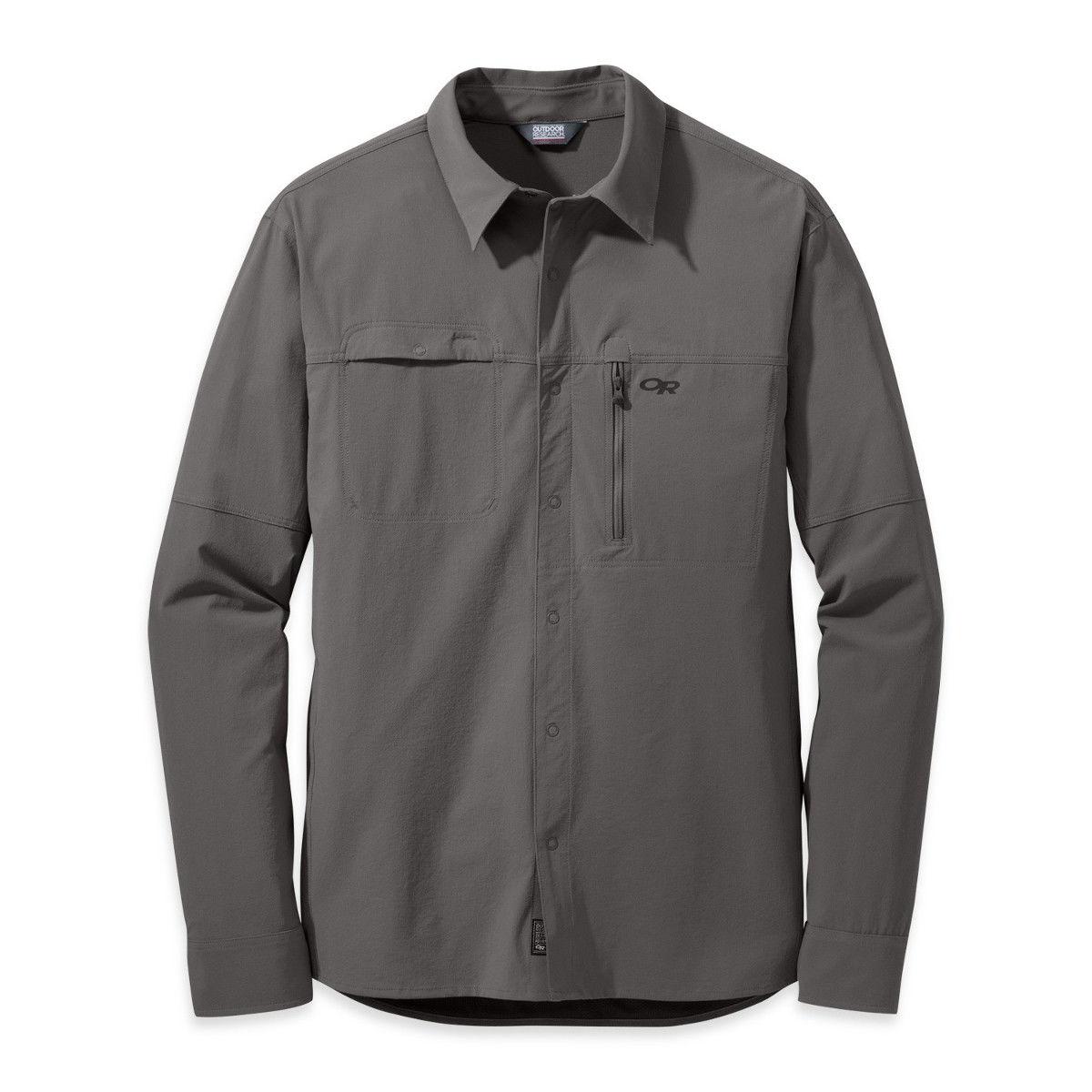 photo: Outdoor Research Ferrosi Utility L/S Shirt hiking shirt