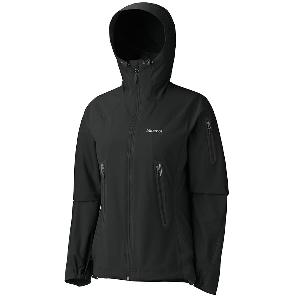 photo: Marmot Women's Vapor Trail Hoody soft shell jacket
