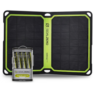 Goal Zero Guide 10 Plus + Nomad 7 Plus Solar Panel Kit