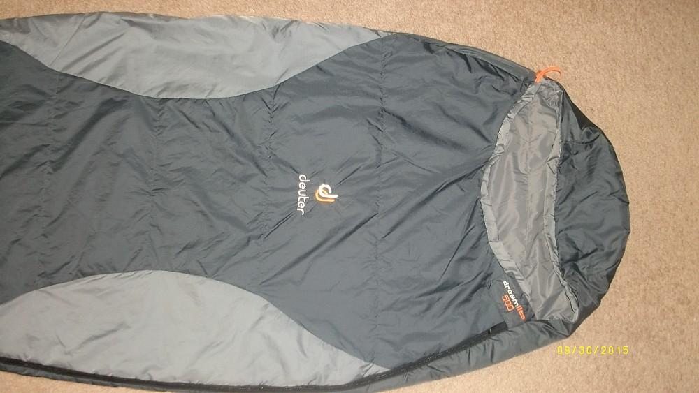 photo: Deuter DreamLite 500 warm weather synthetic sleeping bag