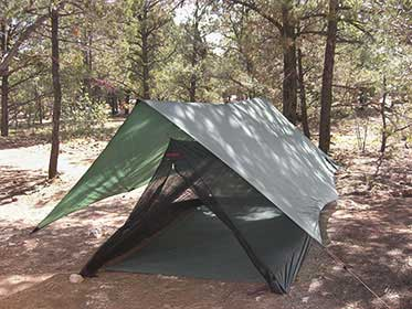 photo: Hilleberg Mesh Ridge bug shelter