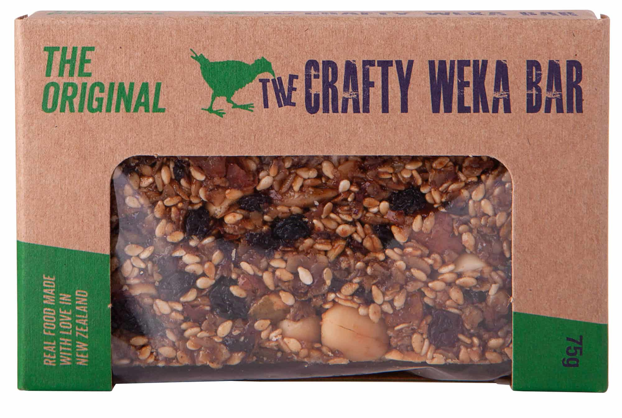 photo: The Crafty Weka Bar The Original nutrition bar
