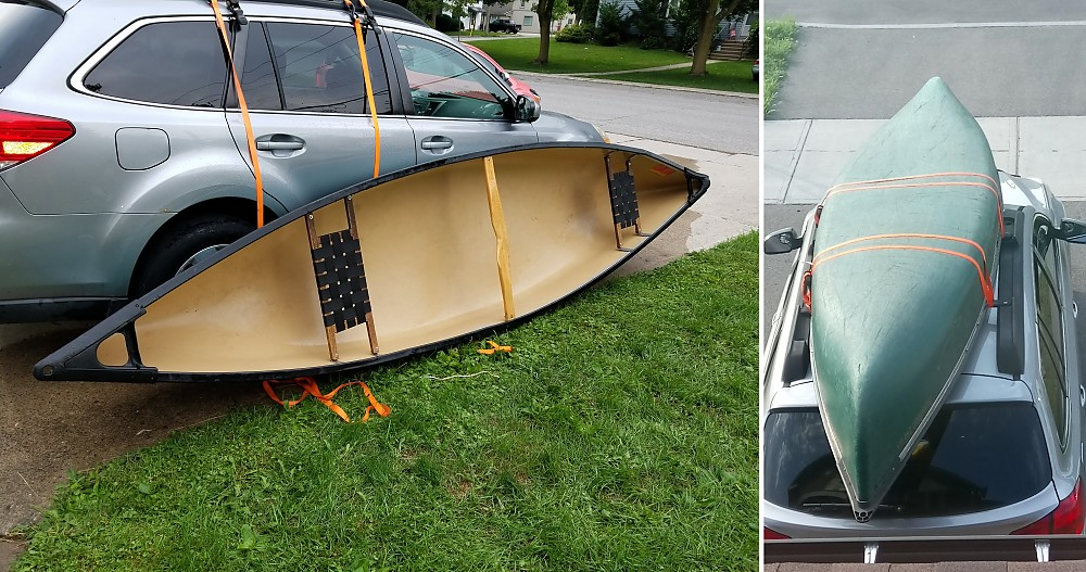 photo: Coleman Expedition 146 dlx recreational canoe