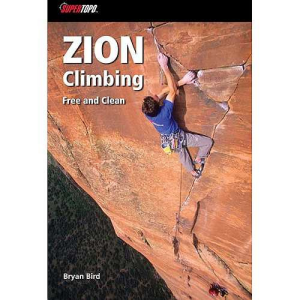 photo: SuperTopo Zion Climbing - Free And Clean us mountain states guidebook