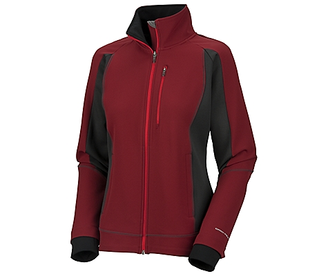 photo: Columbia Heat Treat Hybrid Jacket soft shell jacket
