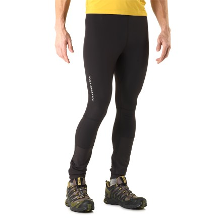 photo: Salomon Men's Momentum II Tight performance pant/tight