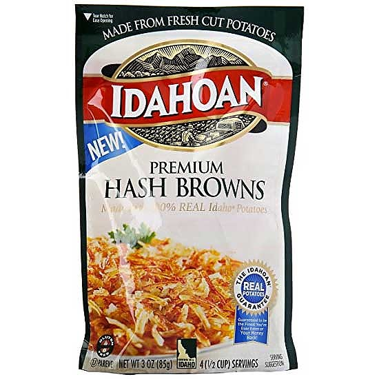 photo:   Idahoan Premium Hash Browns snack/side dish