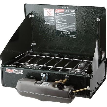 photo: Coleman Dual Fuel 2-Burner Stove camp stove