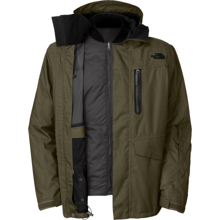 photo: The North Face Houser Triclimate Jacket component (3-in-1) jacket